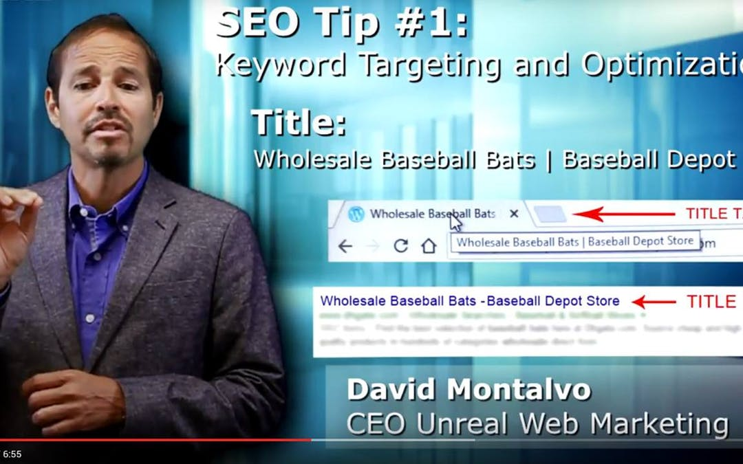 Keyword Research (Google Keyword Planner) , Page and Title Tag Optimization