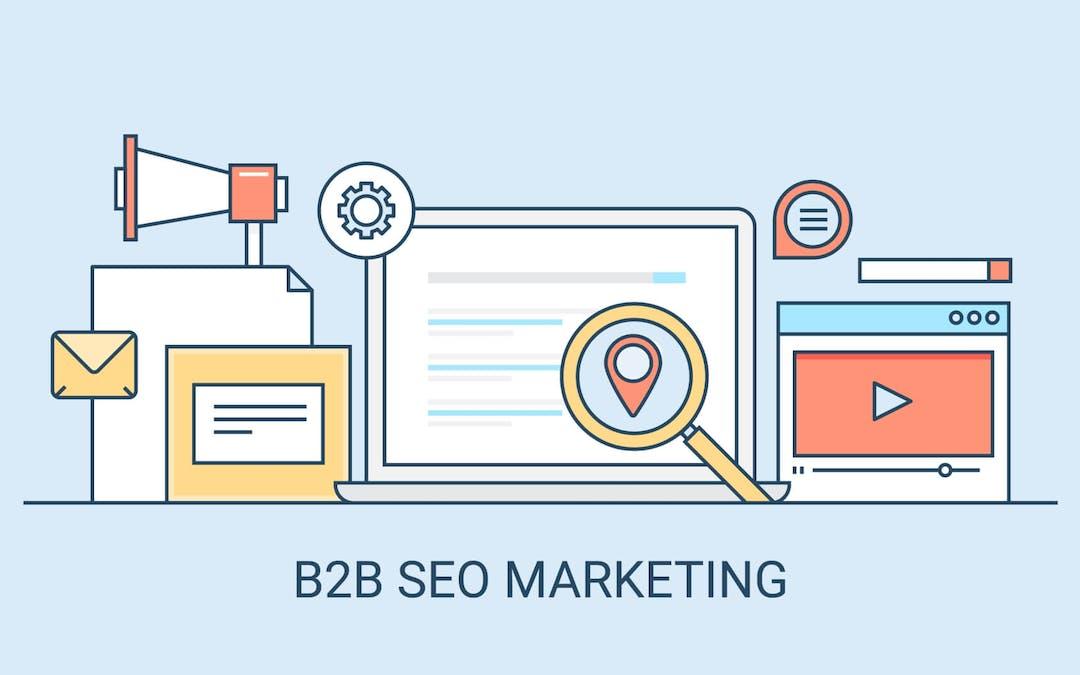 b2b seo marketing 2021